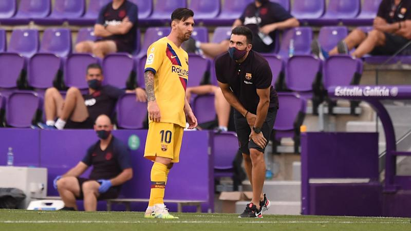 Setien says Messi needs a rest as Barcelona chase LaLiga title