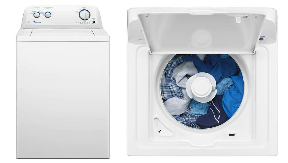 This top-rated top loader is on sale for Labor Day. (Photo: Lowe's)