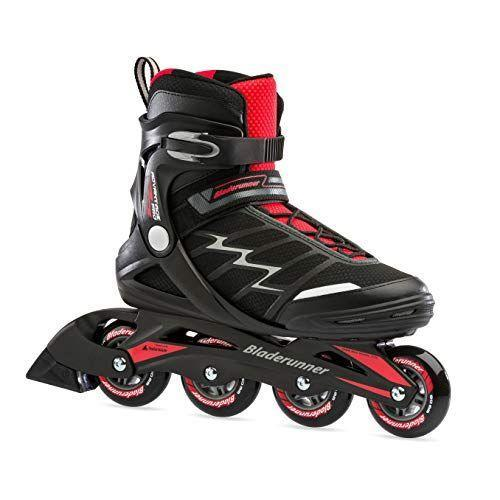 """<p><strong>Rollerblade</strong></p><p>amazon.com</p><p><strong>$115.90</strong></p><p><a href=""""https://www.amazon.com/dp/B01M0JLN93?tag=syn-yahoo-20&ascsubtag=%5Bartid%7C2139.g.34587394%5Bsrc%7Cyahoo-us"""" rel=""""nofollow noopener"""" target=""""_blank"""" data-ylk=""""slk:BUY IT HERE"""" class=""""link rapid-noclick-resp"""">BUY IT HERE</a></p><p>Entry level skaters will get a lot out of these blades. They prioritize comfort and stability with wheels that turn fast under minimum effort. They are also totally fitness-driven and ergonomically designed to mimic the comfort of a sneaker.<br></p>"""
