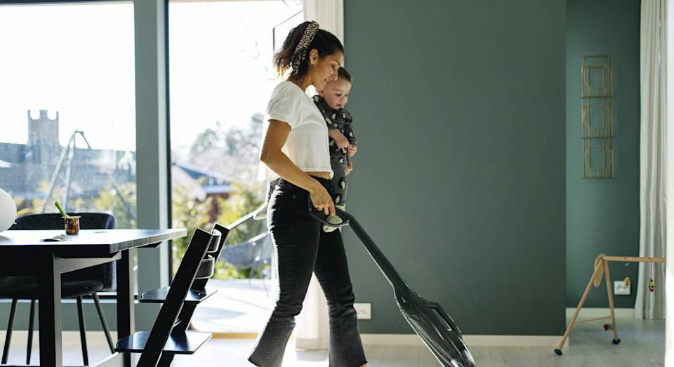 The one new gadget you need for a satisfying spring clean. (Getty Images)