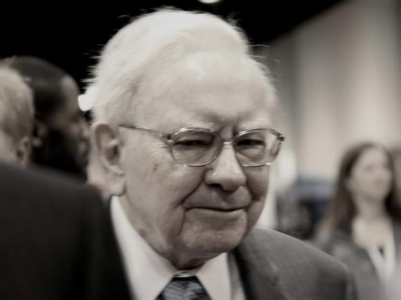 Warren Buffett at Berkshire's annual meeting