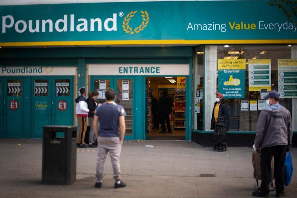 Poundland boss says supply chain issues will stay for 12 months. (Victoria Jones/PA) (PA Archive)