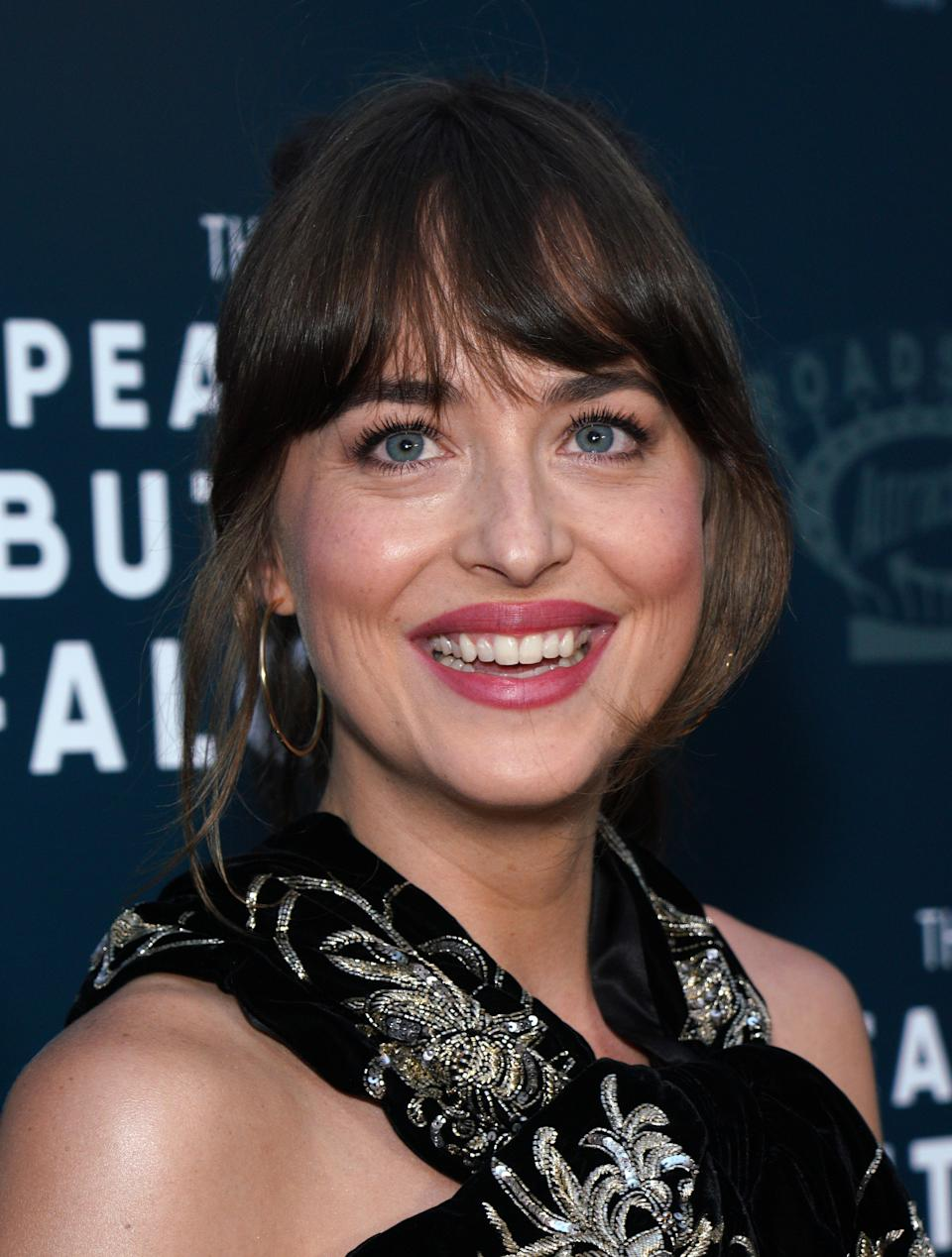 HOLLYWOOD, CALIFORNIA - AUGUST 01: Actress Dakota Johnson attends the LA Special Screening of Roadside Attractions' 'The Peanut Butter Falcon' at ArcLight Hollywood on August 01, 2019 in Hollywood, California. (Photo by JC Olivera/WireImage)