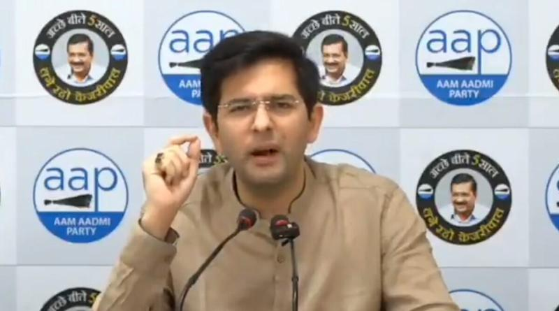AAP Leader Raghav Chadha Reacts to Rajasthan Political Crisis, Says 'Congress is on Ventilator, State After State Selling its MLAs'