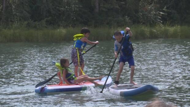 Kayaks, canoes and paddleboards are some of the hot items at Fresh Air Experience in Regina.