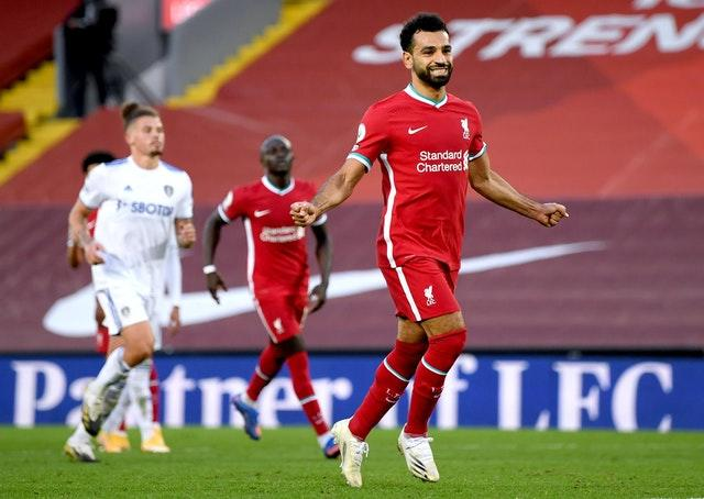 Salah was in inspired form against Leeds