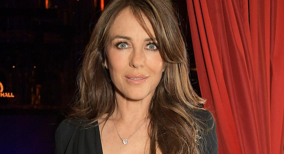 Elizabeth Hurley has revealed her secret to radiant looking skin, and her go-to skincare essential for over 20 years.  (Getty Images)