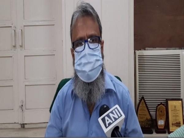 AMU Training and Placement Officer Saad Hameed (Photo: ANI)