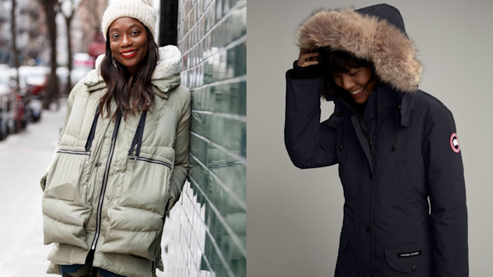 There are parkas at every price point.