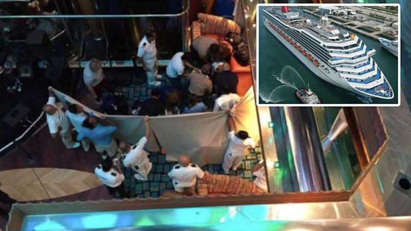 Girl Dies After Fall On Board Cruise Ship In Miami - What happens when someone dies on a cruise ship