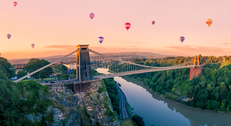 Here's how to spend a long weekend in Bristol, one of England's largest cities. [Photo: Getty]