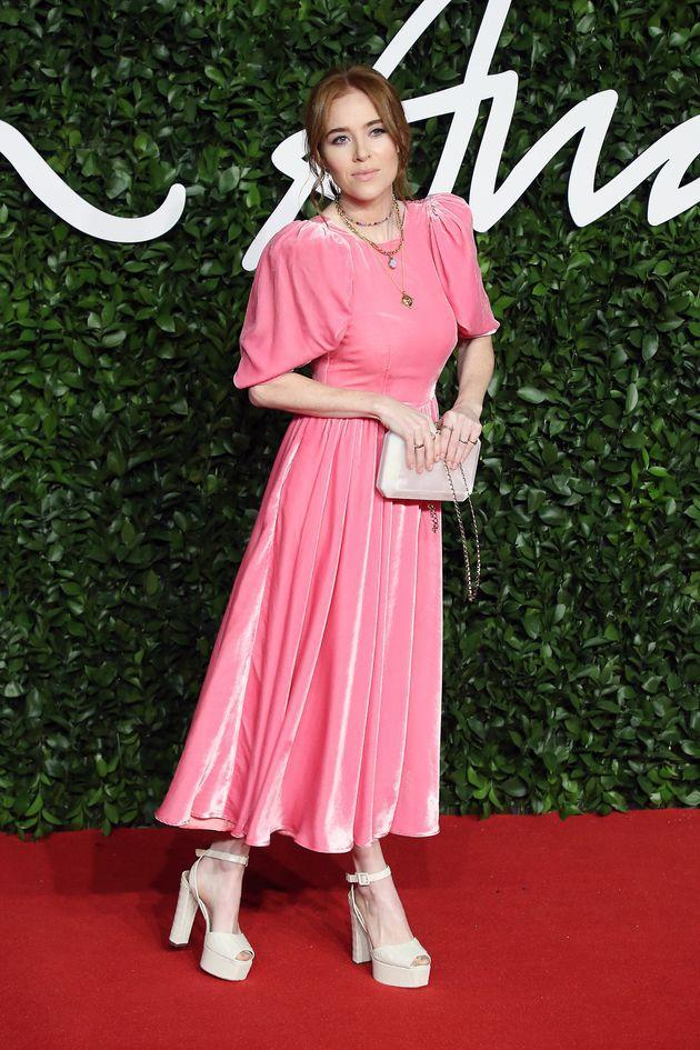 Angela Scanlon at a fashion event in 2019 (Photo: Neil Mockford via Getty Images)