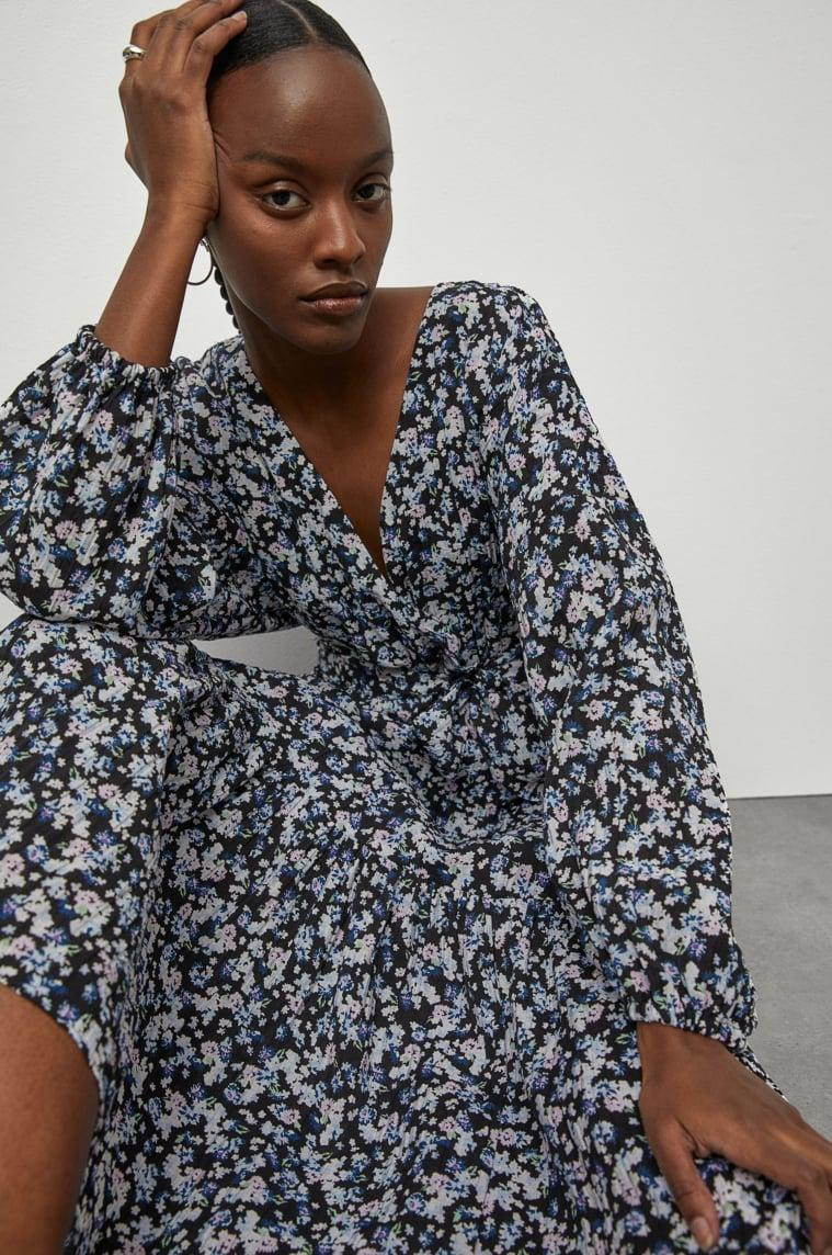 <p>This <span>H&amp;M Long Wrap Dress</span> ($35) is ready for spring picnics and rooftop brunches.</p>