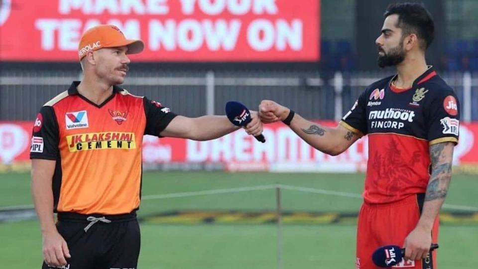 IPL 2021, SRH vs RCB: David Warner elects to field