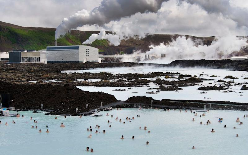 Iceland is having to look at new ways to expand its economy as growth in the number of tourists, many of whom visit the Blue Lagoon, begins to slow - AFP