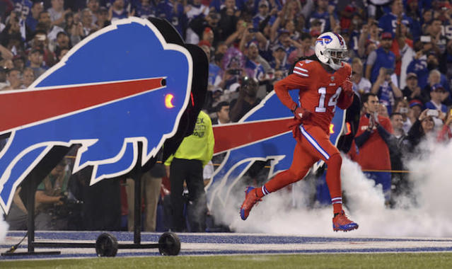 Can Sammy Watkins actually remain upright over 16 games? Del Don is banking on it. (AP)