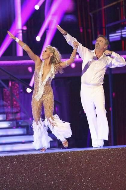 Emma Slater and Bill Engvall disco on 'Dancing,' Nov. 4, 2013 -- ABC