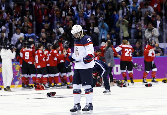 Canada women beat US 3-2 in OT for Olympic gold