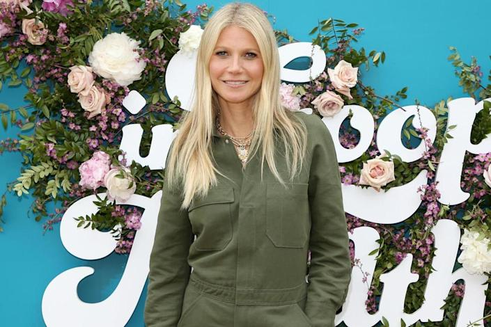 The Goop girl: Gwyneth Paltrow at an LA In Goop Health summit in May ( Phillip Faraone/Stringer ): Getty Images