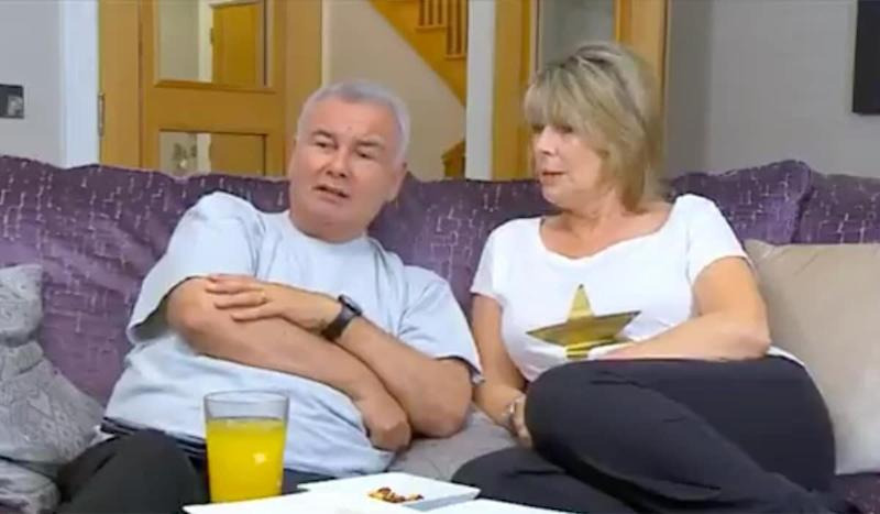 Eamonnn Holmes and Ruth Langsford on Celebrity Gogglebox (Photo: Channel 4)