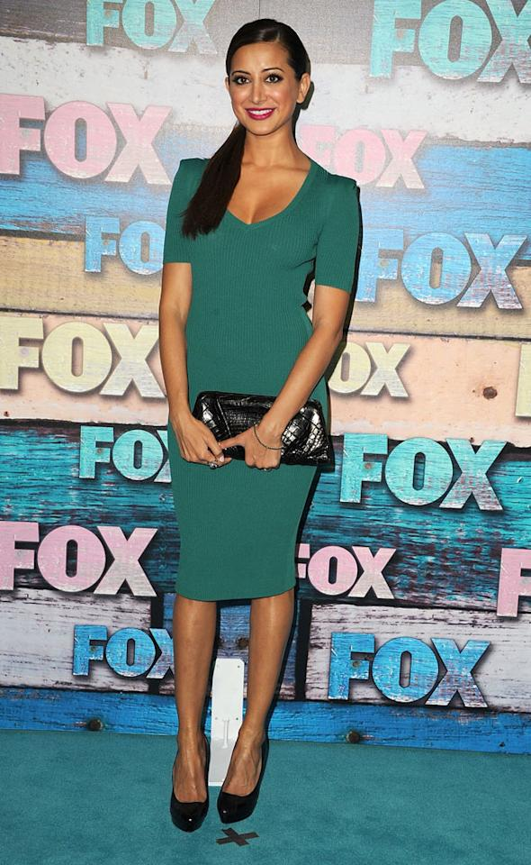 "Noureen DeWulf (""Anger Management"") arrives at the Fox Summer 2012 All-Star Party on July 23, 2012 at the Soho House in West Hollywood, California."