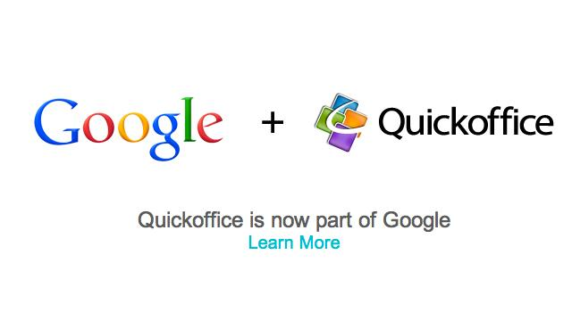 Google Buys Quickoffice and Meebo, Startups to Beef Up its Search and Office Businesses