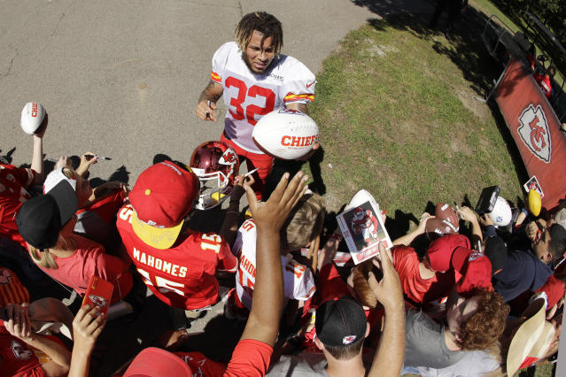 Tyrann Mathieu is already a big hit with fans. The Chiefs hope he's a big hit in their secondary. (AP)
