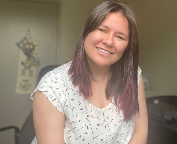 Krista Mogridge says the time has come for the Inuit to lead the way on managing the care of children who otherwise would be removed from their community.  (Submitted by Krista Mogridge - image credit)