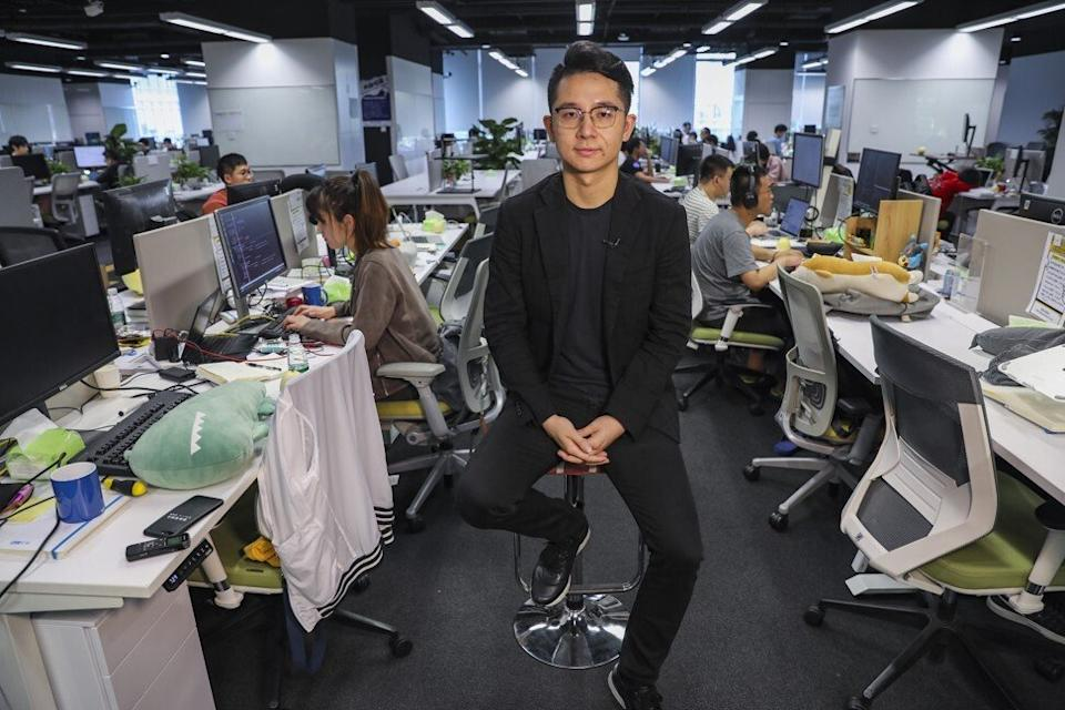 Yin Qi, co-founder of Megvii in the company's Beijing office on May 13, 2019. Photo: Simon Song
