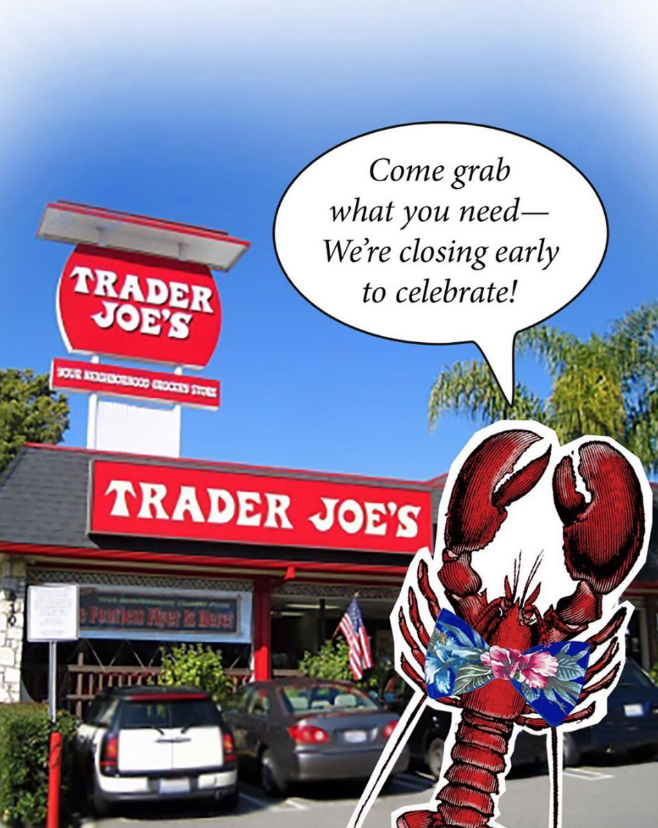 """<p>Next time you're checking out at Trader Joe's, take a glance around for the plastic lobster—it's there. There's been one in <a href=""""https://www.today.com/food/trader-joe-s-surprising-facts-t115351"""" rel=""""nofollow noopener"""" target=""""_blank"""" data-ylk=""""slk:every Trader Joe's store since 1983"""" class=""""link rapid-noclick-resp"""">every Trader Joe's store since 1983</a>. </p>"""