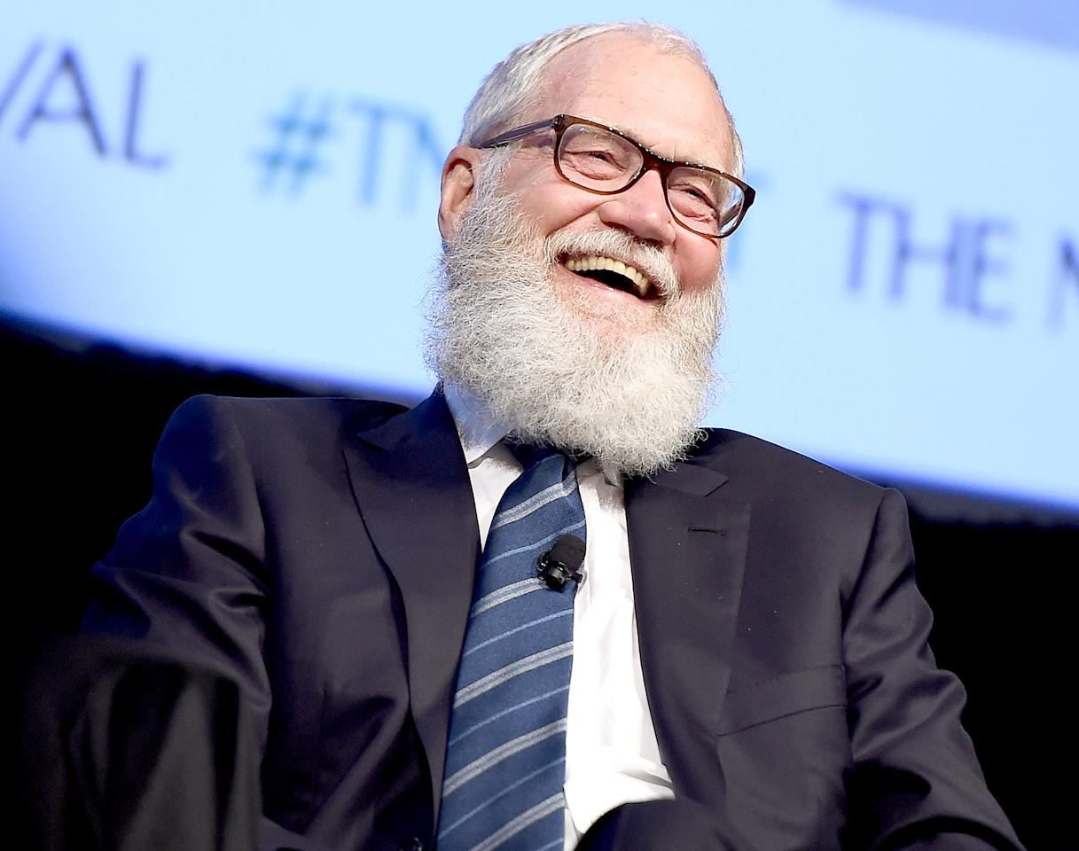 David Letterman had one request for his new Netflix series — to keep his beard!