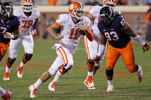 Clemson dismisses quarterback Chad Kelly for 'conduct detrimental to the program'