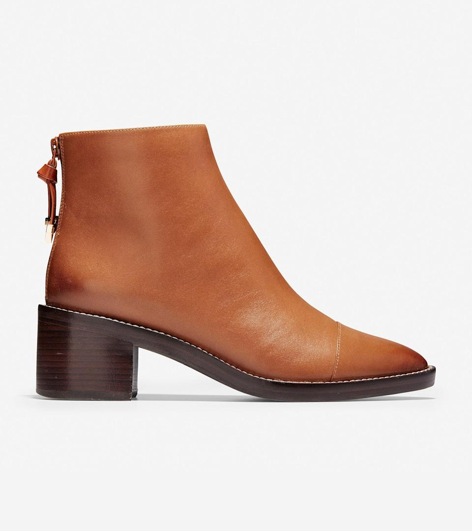 """<h2><a href=""""https://www.colehaan.com/"""" rel=""""nofollow noopener"""" target=""""_blank"""" data-ylk=""""slk:Cole Haan The Great Fall Sale"""" class=""""link rapid-noclick-resp"""">Cole Haan The Great Fall Sale</a></h2><br><strong>Sale:</strong> Take <a href=""""https://www.colehaan.com/womens-shoes"""" rel=""""nofollow noopener"""" target=""""_blank"""" data-ylk=""""slk:30% off select full-price styles"""" class=""""link rapid-noclick-resp"""">30% off select full-price styles</a> and <a href=""""https://www.colehaan.com/womens-sale"""" rel=""""nofollow noopener"""" target=""""_blank"""" data-ylk=""""slk:up to 60% off sale styles"""" class=""""link rapid-noclick-resp"""">up to 60% off sale styles</a><br><br><strong>Dates:</strong> For a limited time only<br><br><strong>Promo Code: </strong>None<br><br><strong>Cole Haan</strong> Winnie Grand Bootie, $, available at <a href=""""https://go.skimresources.com/?id=30283X879131&url=https%3A%2F%2Fwww.colehaan.com%2Fwinnie-grand-bootie-british-tan-leather%2FW12113.html"""" rel=""""nofollow noopener"""" target=""""_blank"""" data-ylk=""""slk:Cole Haan"""" class=""""link rapid-noclick-resp"""">Cole Haan</a>"""