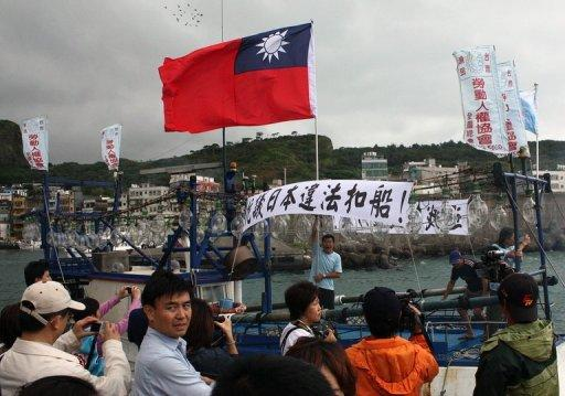 Japan officially recognises China rather than Taiwan but maintains close trade ties with the island