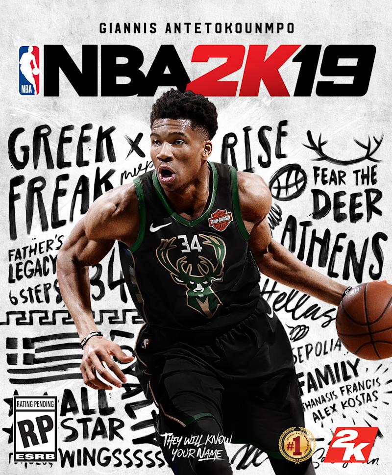 1cec11eea They Will Know Your Name  Giannis Antetokounmpo Becomes First International  Star to Net the Cover of NBA 2K