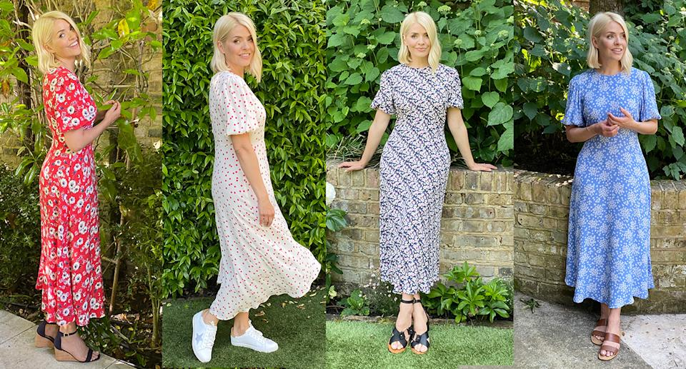 Holly's perfect M&S summer dress is back in new prints. (Marks & Spencer)