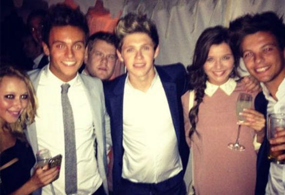 PHOTO: One Direction Party With Olympic Star Tom Daley At James Corden's Wedding