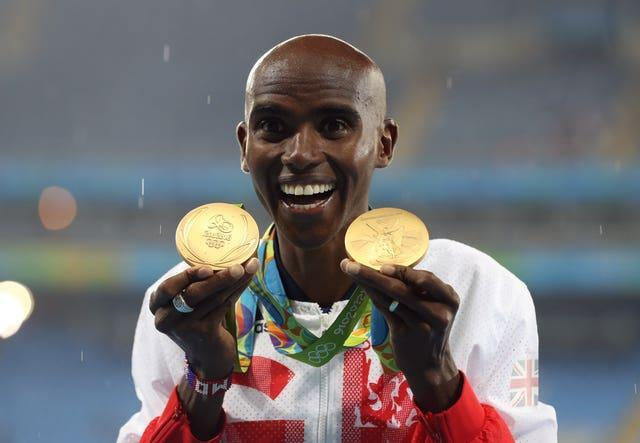 Farah went on to complete the 'double double' by retaining his Olympic 5,000m and 10,000m titles in Rio
