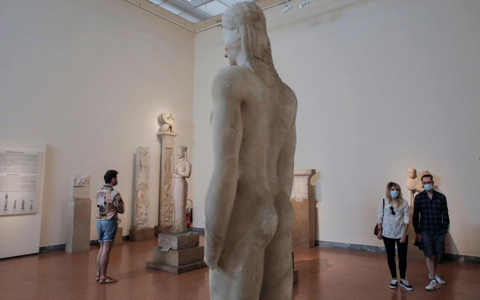 Visitors have returned to Greek museums - Shutterstock