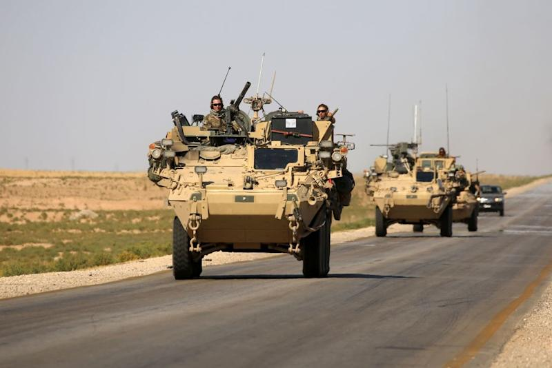 American troops are engaging in a widening war with Iranian proxies in Syria.