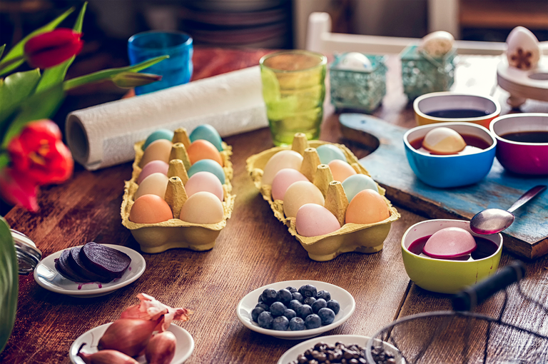 "<p>Sure, kids appreciate store-bought Easter egg dyeing kits, complete with glitter and stickers. But making their own natural egg dye and seeing the foods they eat turn into pigments will instantly cause them to forget about the pricey and artificial alternative. <br></p><p><em><a href=""https://www.womansday.com/home/crafts-projects/a26446644/dyeing-easter-eggs/"" rel=""nofollow noopener"" target=""_blank"" data-ylk=""slk:Get the Natural Easter Egg Dye tutorial."" class=""link rapid-noclick-resp"">Get the Natural Easter Egg Dye tutorial.</a></em></p>"