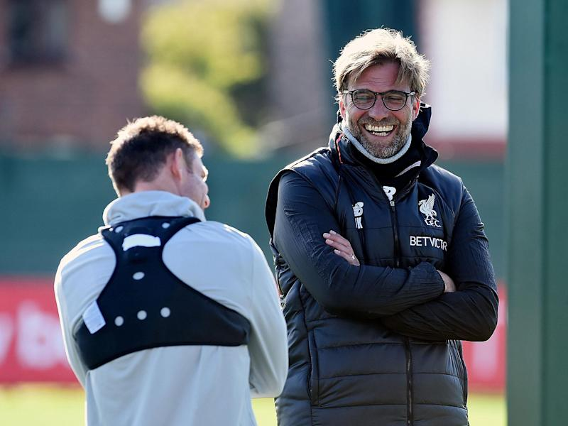 Jurgen Klopp throws down the gauntlet to his Liverpool players declaring he'll only be satisfied with a top four finish
