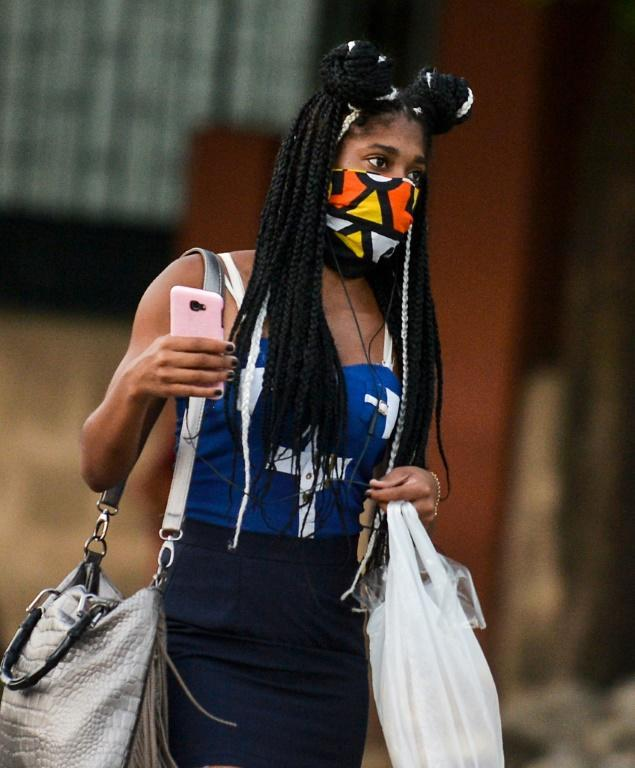 Black people in Cuba are economically and socially disadvantaged in comparison to whites, anti-racism activists say (AFP Photo/Yamil LAGE)