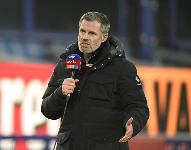 Sky Sports pundit Jamie Carragher expressed his dismay at the Super League plans.