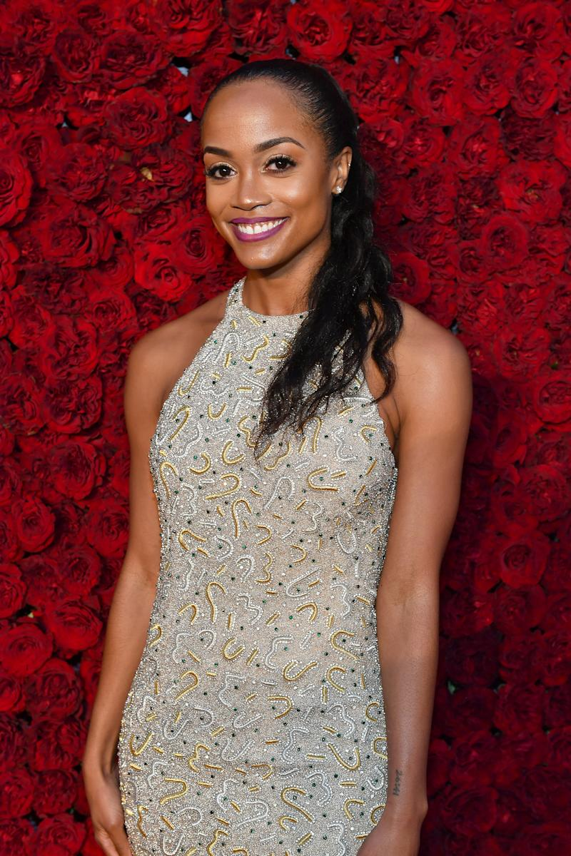 """Rachel Lindsay, who was The Bachelorette's first Black female lead in 2017, says The Bachelor has done the """"bare minimum"""" by hiring a Black bachelor. Photo: Getty"""