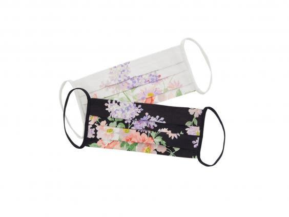 Stylish and comfortable, this floral mask will look and feel nice (Needle &Thread)