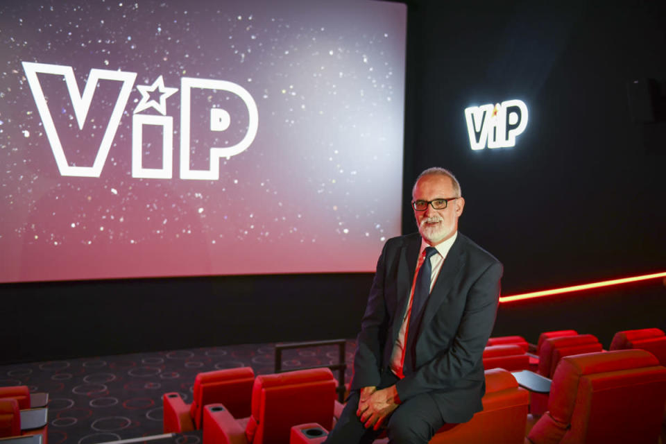 """<p>David Spence, General Manager of Cineworld at The O2 said: """"We are delighted to offer Londoners a vast world of viewing possibilities with the latest in cinema technology."""" (Cineworld) </p>"""