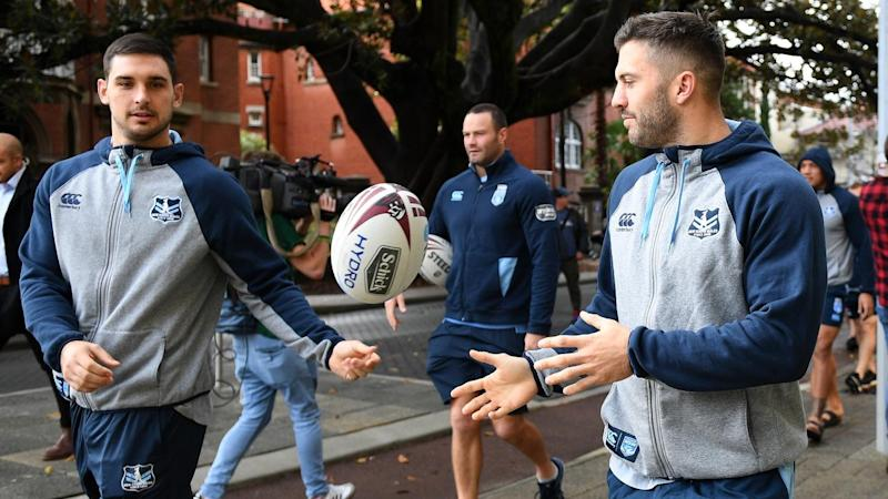 SOO19 NSW BLUES TEAM WALK