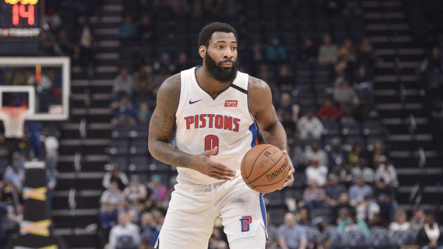 While he can bolt for free agency this summer, the Cavaliers are hopeful that Andre Drummond sticks around Cleveland. (AP/Brandon Dill)