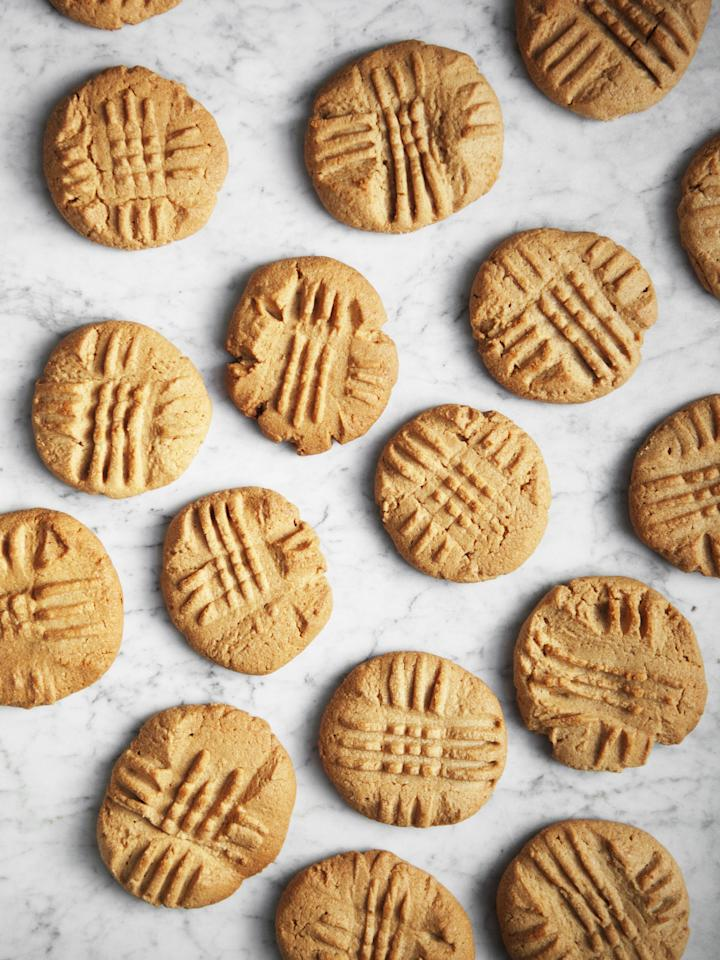 """<p>They're good literally every time you make them.</p><p>Get the recipe from <a rel=""""nofollow"""" href=""""http://www.delish.com/cooking/recipe-ideas/recipes/a51462/easy-peanut-butter-cookie-recipe/"""">Delish</a>.</p>"""